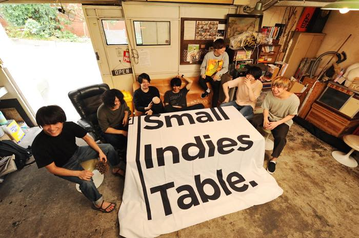 small indies table tour 2018