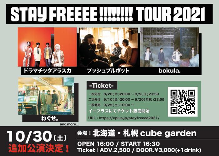 STAY FREEEE!!!!!!!! TOUR